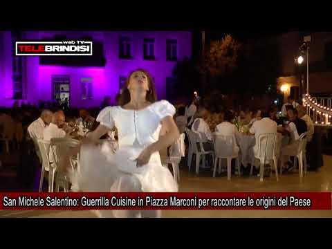 San Michele Salentino, Guerrilla Cuisine in Piazza Marconi per raccontare le origini del Paese