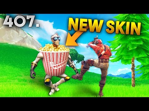 NEW POPCORN SKIN..?! Fortnite Daily Best Moments Ep.407 (Fortnite Battle Royale Funny Moments) streaming vf