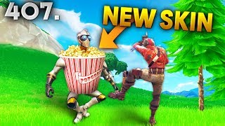 NEW POPCORN SKIN..?! Fortnite Daily Best Moments Ep.407 (Fortnite Battle Royale Funny Moments)