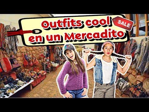 Hicimos nuestro outfit en un tianguis con 200 pesos