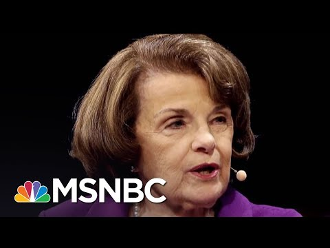 Senator Dianne Feinstein Praised For Releasing Key Russiagate Info | AM Joy | MSNBC