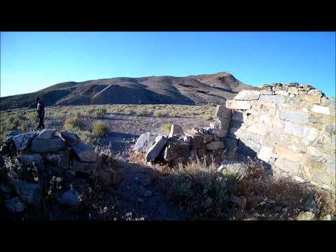 The Ghost Town of Downeyville, Nye County, Nevada
