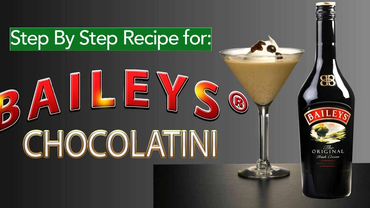Baileys Chocolatini Cocktail recipes from campbell station wine and spirits: baileys