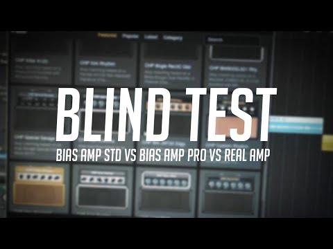 BIAS amp standard vs BIAS amp PRO VS Real amp BLIND TEST!