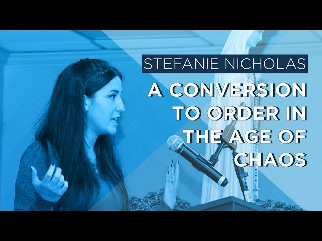 The Truth Wants To Be Known: A Conversion to Order in the Age of Chaos by Stefanie Nicholas