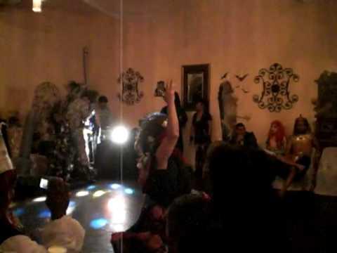 Christy Nicole 2nd halloween show performance