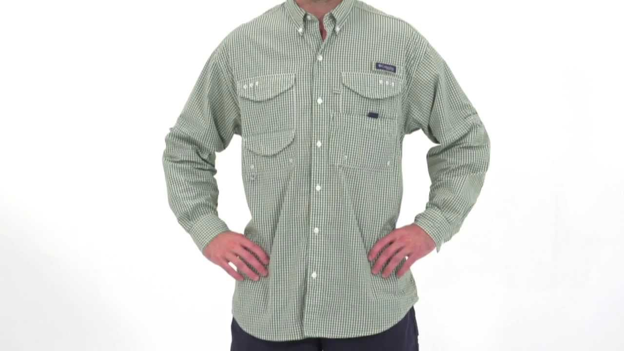 d6150d5e Columbia Men's PFG Super Bonehead Classic Long Sleeve Shirt - YouTube