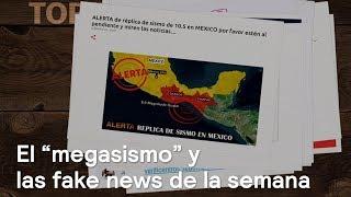 """El """"megasismo"""" y las fake news de la semana - En Punto con Denise Maerker"""