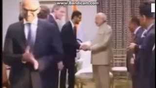 microsoft ceo satya nadella wipes hands clean after handshake with modi exclusive video