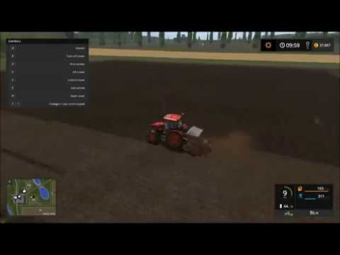 FS17 Fridays (4) - Cultivating and Planting Canola Crop