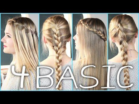 Wasserfall Frisur Einfache Anleitung YouTube