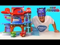 PJ Masks Headquarters Playset ! || Toy Reviews || Konas2002