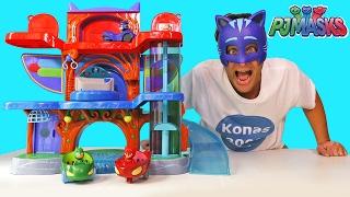 PJ Masks Headquarters Playset ! || Toy Reviews || Konas2002
