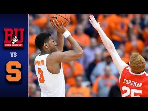 Syracuse vs. Boston University Men
