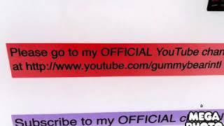 Gummy bear song effects