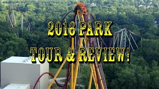 2016 Kings Island Complete Park Tour In HD!