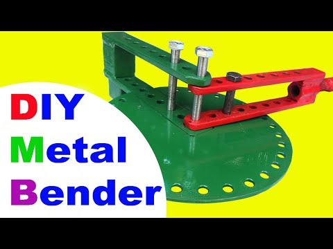 How to make a DIY Metal Bender