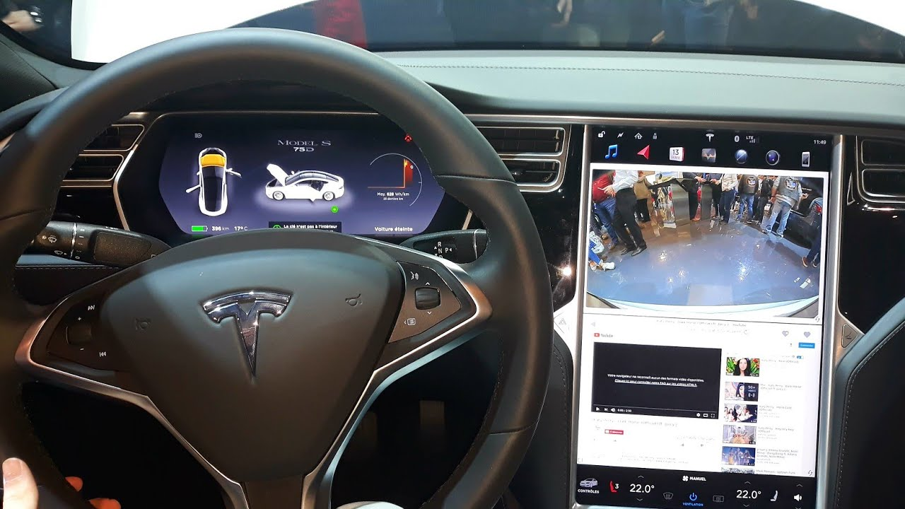 Tesla Model S 75d 2018 Exterior Interior Review Youtube