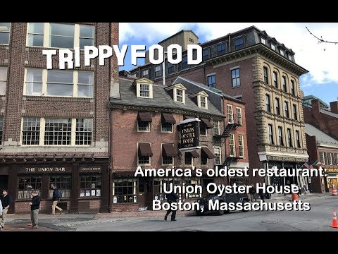 Oldest Restaurant In The U.S.: Union Oyster House, Boston MA - Trippy Food Episode 166a