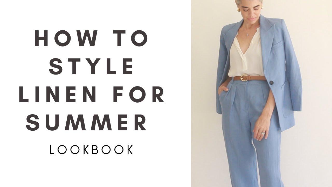 HOW TO STYLE LINEN FOR SUMMER | LOOKBOOK | Nikol Johnson