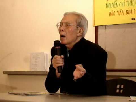 NGUYEN CHI THIEN, Dissident Poet, spoke at San Jose Library, Nov. 3-2007