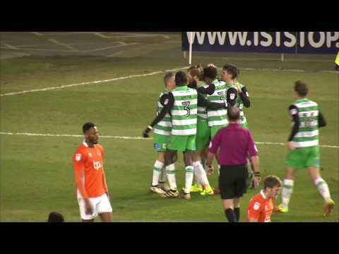 HIGHLIGHTS: BLACKPOOL 2-2 YEOVIL TOWN