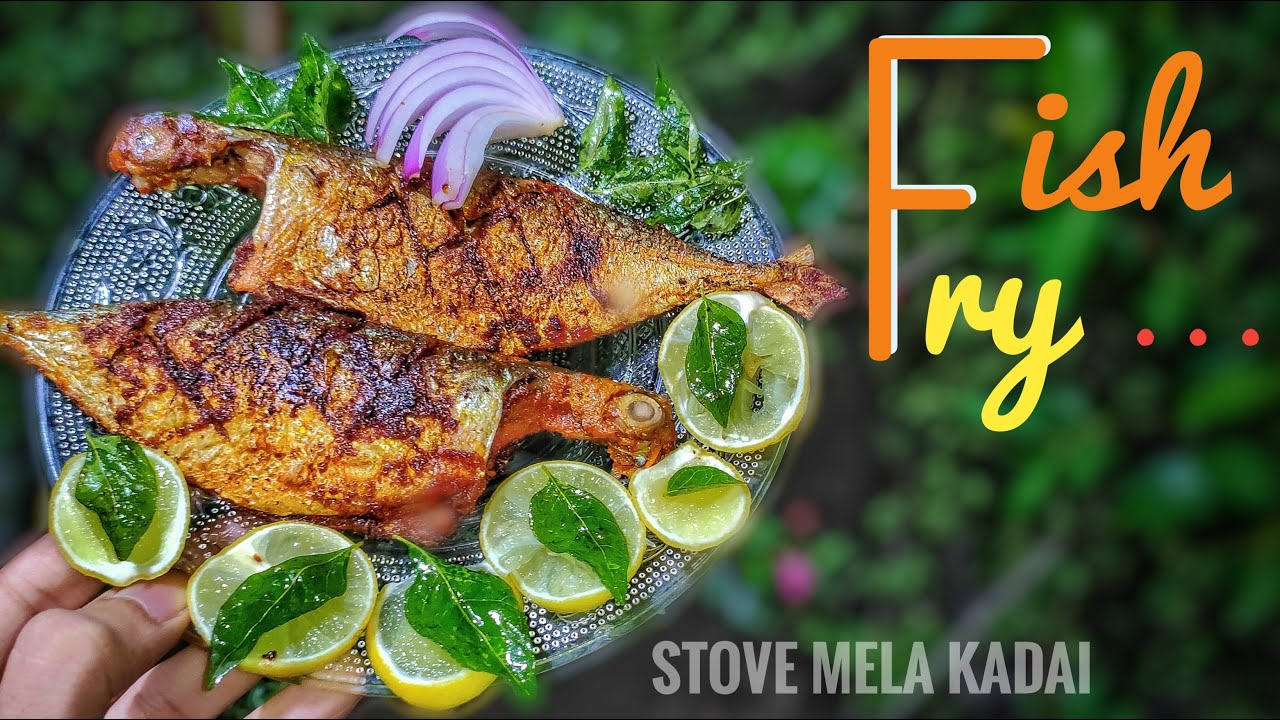 Fish Fry | Fish Fry Recipe ( Tamil ) | மீன் வறுவல் | Tawa Fish Fry | Meen Varuval ( Spicy ) in Tamil