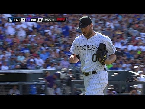 LAD@COL: Ottavino fans three over two innings Mp3