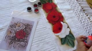 Dicas para pintar Rosas Vermelhas Paty Buoso