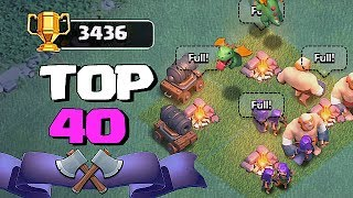 WE DID IT!!! | LEADERBOARDS TOP 40 | Clash of clans