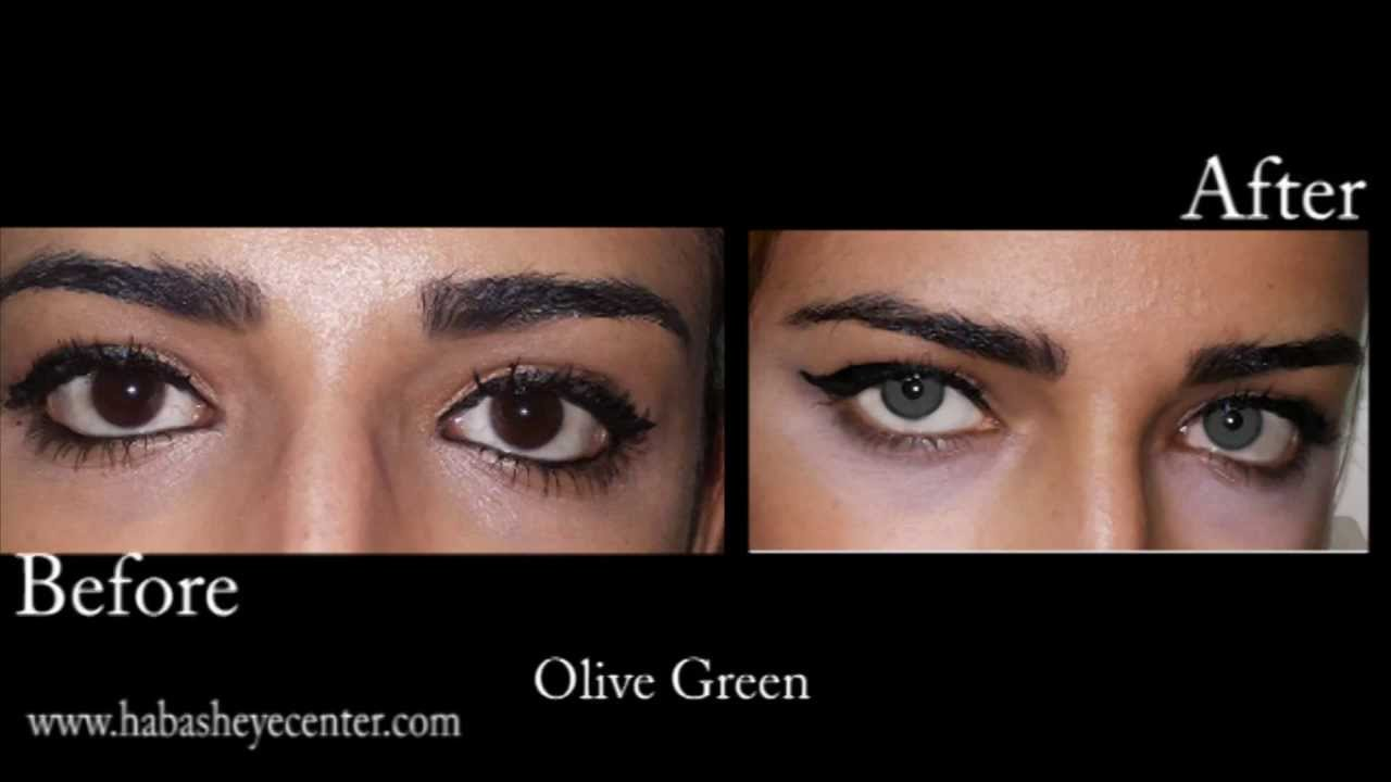 Brightocular eye color change olive green by Dr.Salman ...