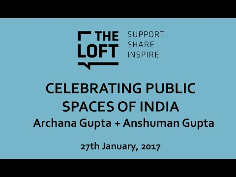 Talk | Celebrating Public Places of India