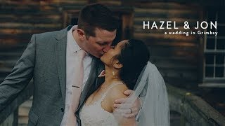 Hazel and Jon: A Wedding in Grimsby Ontario