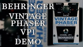 Behringer - Vintage Phase VP1 - Demo