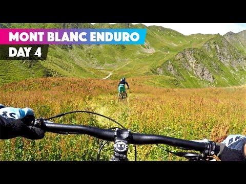 GOTTA BE READY FOR A FIGHT | Ben Jones Mont Blanc Mountain Bike Enduro Day 4