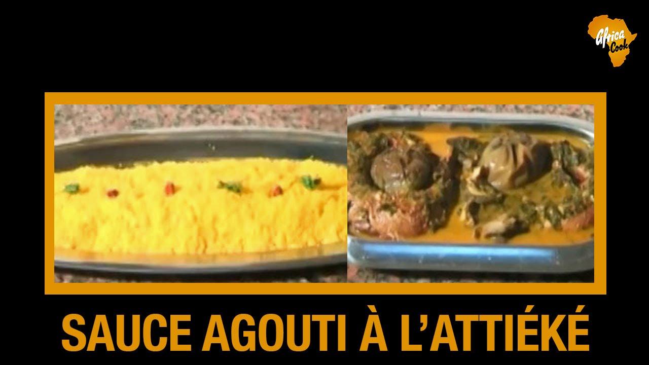 Recette de lattik sauce Agouti Cuisine Ivoirienne  Africa Cook Cuisine africaine  YouTube