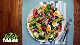 Nicoise Salad Recipe With Fresh Tuna And Baby Red Delight Potatoes