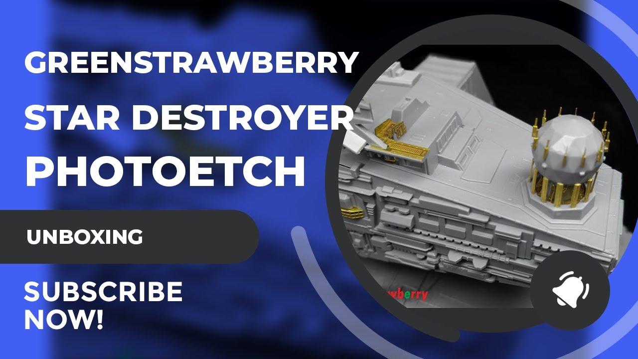 Zvezda/Revell 1:2700 Scale Star Destroyer PE Set Reveiw