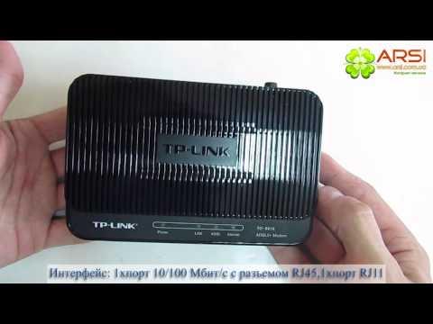 TP-Link TD-8616 обзор / review