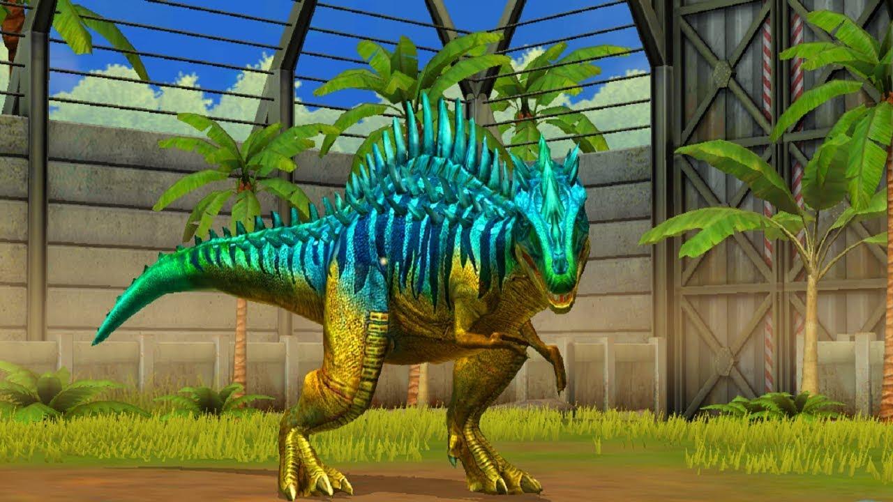 Jurassic World Game Mobile #70: Siêu khủng long Megalosaurus cực đẹp và mạnh