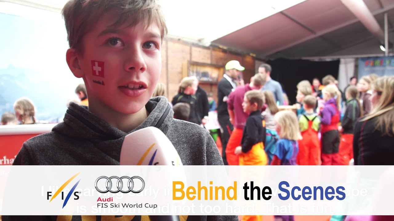 A look back to the athletes' childhood - fis alpine - behind the scenes