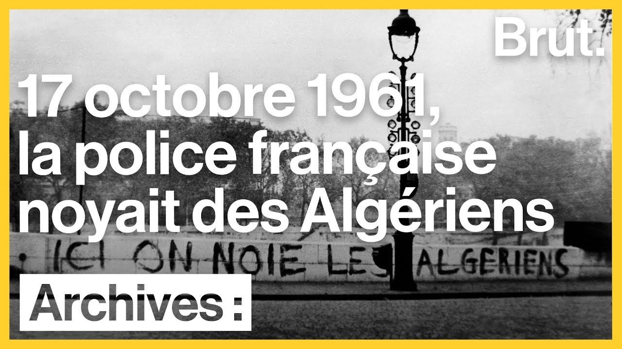 Le massacre du 17 octobre 1961 à Paris