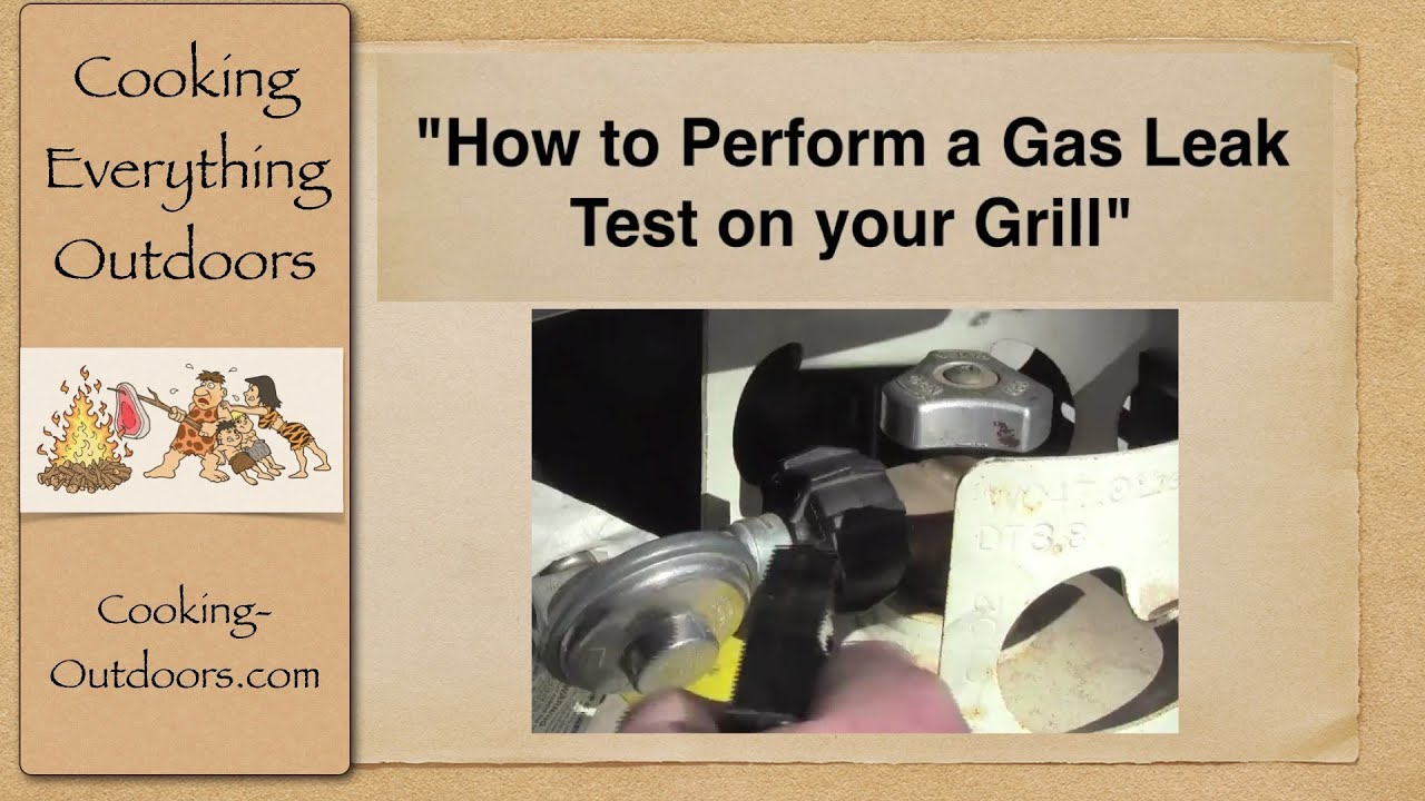 how to perform a gas leak test on your grill easy. Black Bedroom Furniture Sets. Home Design Ideas