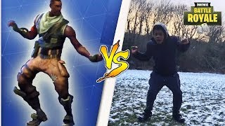 Fortnite dance challenge in real life (IN PUBLIC)