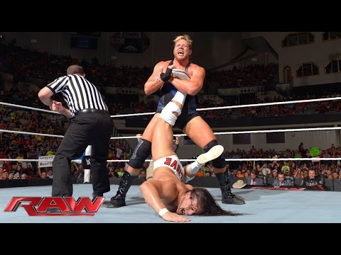 Jack Swagger vs. Bo Dallas: Raw, Sept. 15, 2014