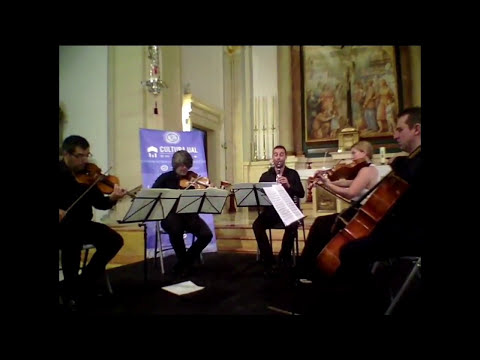 C. M von Weber Clarinet Quintet op. 34