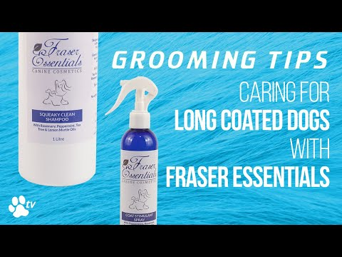 Grooming Tips: caring for long coated dogs with Fraser Essentials products | TRANSGROOM