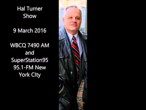 Hal Turner Show   March 9 2016    WBCQ 7 490 AM and 95 1 FM New York City