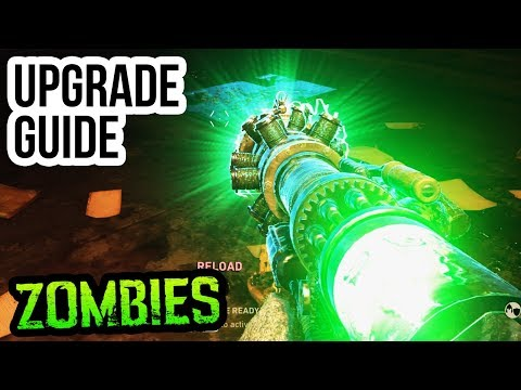 "FINAL REICH TESLA GUN UPGRADE GUIDE & TUTORIAL!! (WW2 Zombies ""MIDNIGHT"" Upgrade Tutorial)"
