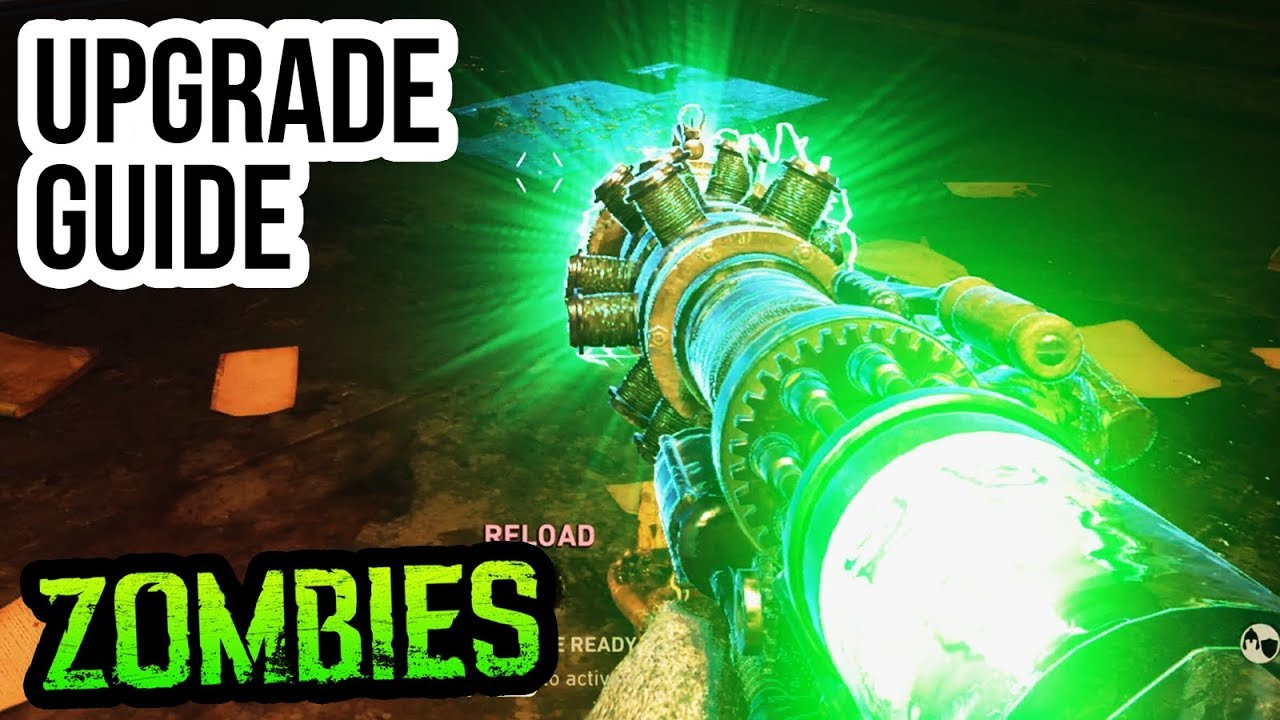 FINAL REICH TESLA GUN UPGRADE GUIDE & TUTORIAL!! (WW2 Zombies